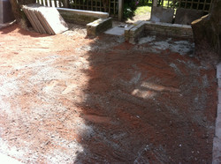 Picture of slab foundations