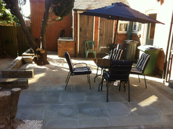 A clean and moss free patio