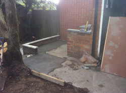 New floor and bbq design