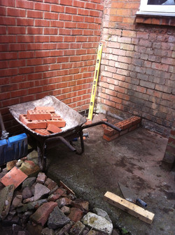 Started to build the bbq in this pic
