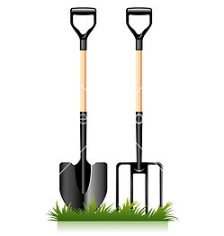 garden tools we use for garden borders and edges to dig the ground