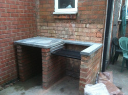 Outdoor bbq now installed