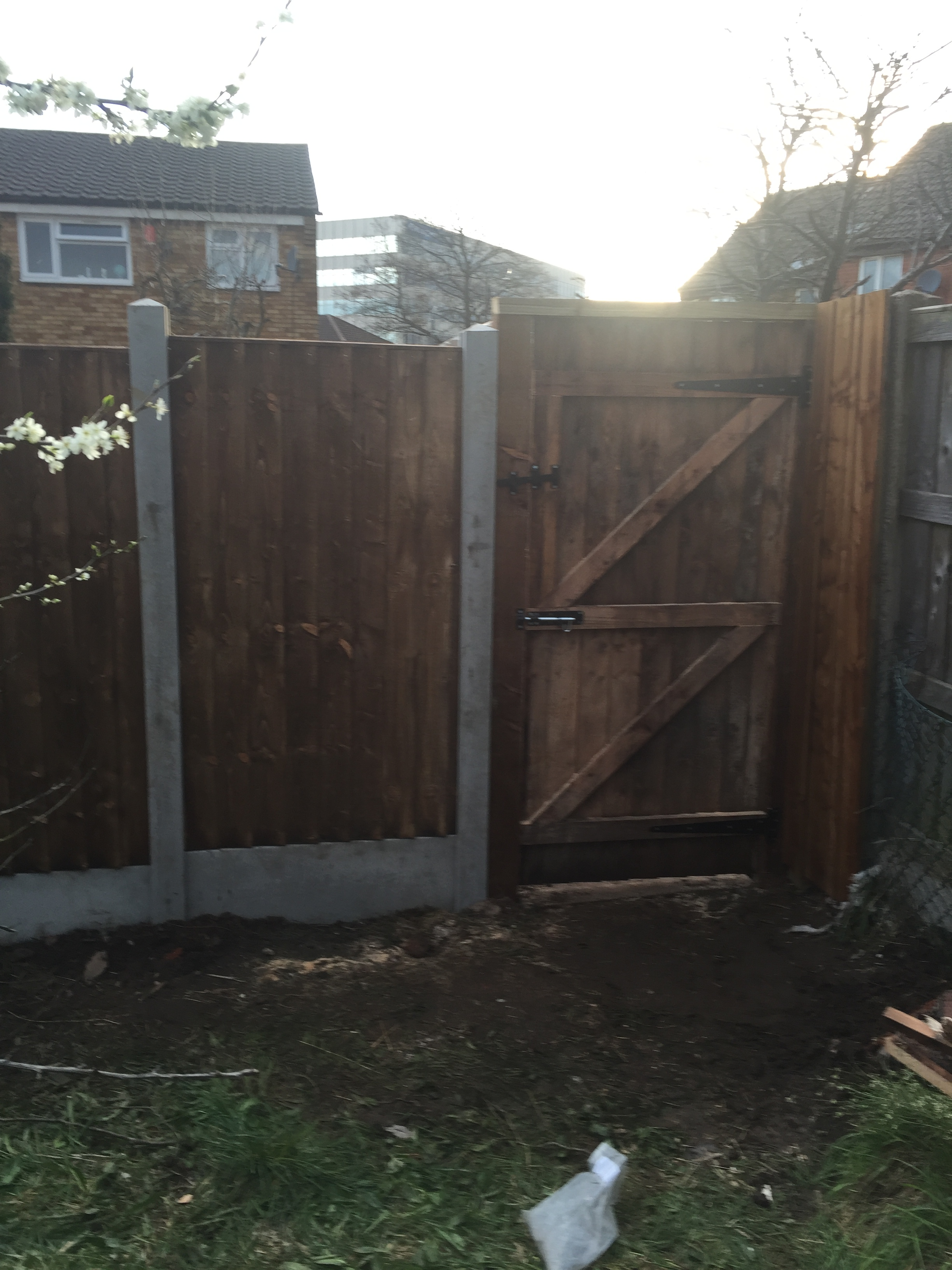 Garden gate hung in smethwick