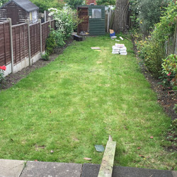 An earlier picture of garden