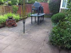 Garden now free of weeds etc