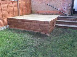 Decking now complete
