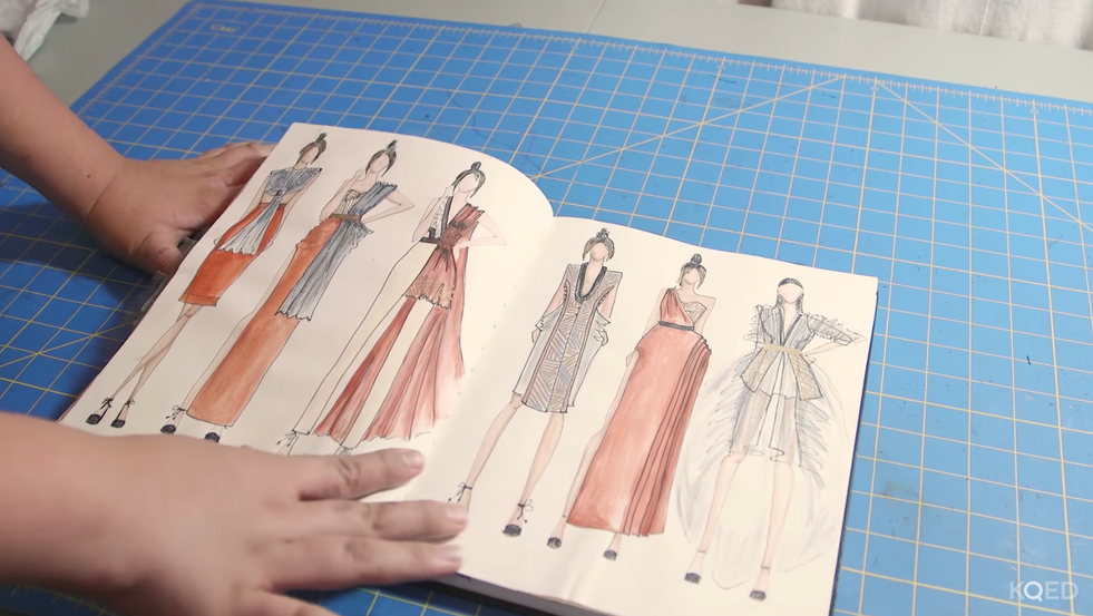 KQED Art School: What does it take to be a fashion designer?*