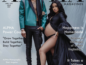 """G Herbo and Taina Williams Grace the Cover of Alpha Magazine as """"Power Couple of the Month"""""""