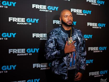 "DJ Suss One's Dinner & a Movie Exclusive Premier of Disney's ""Free Guy"" Recap"