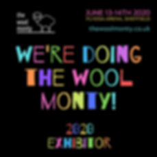 The Wool Monty - 2020 Exhibitor graphic.
