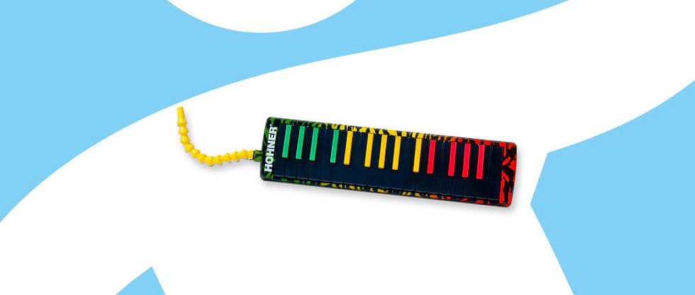 HOHNER AIRBOARD RASTA MELODICA 32