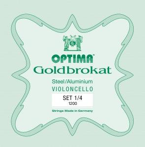GOLDBROKAT CELLO 1/8 SET