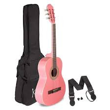 Classical Guitar Pink 1/2 Size