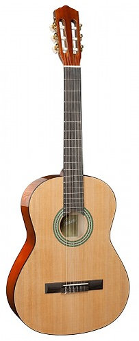 Classical Guitar Natural 1/2 Pack