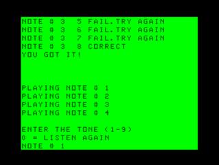 Sound Test Game