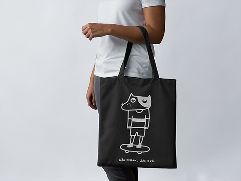 like human, like dog Tote Bag