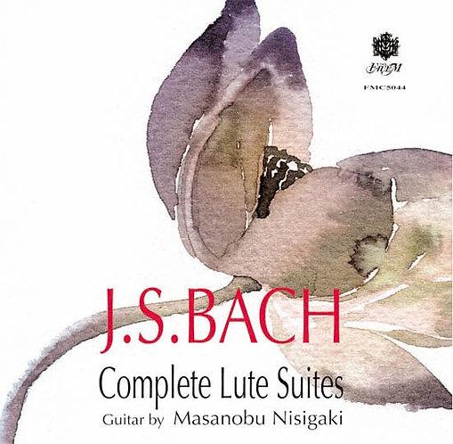 リュート組曲/バッハ(Complete Lute Suites/J.S Bach)