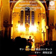 サン・ジャック教会コンサート・スペイン曲集(The Spanish music)