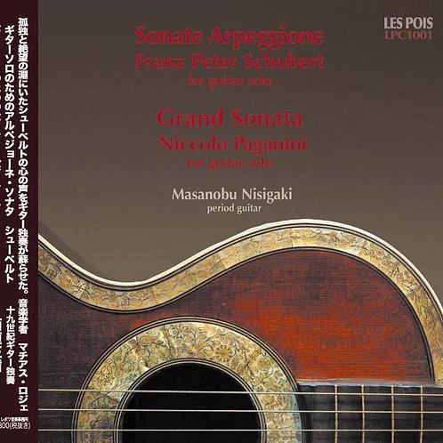 ギターソロ シューベルト&パガニーニ( GUITAR solo Shubert &Paganini)
