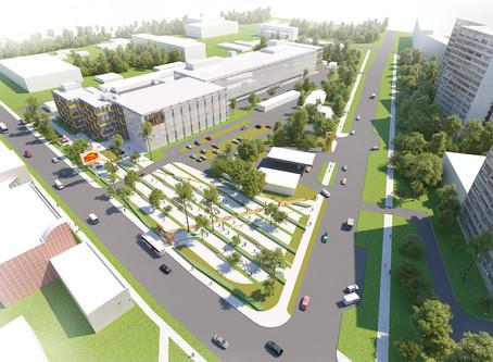 Концепция реконструкции фабрики «Простор»