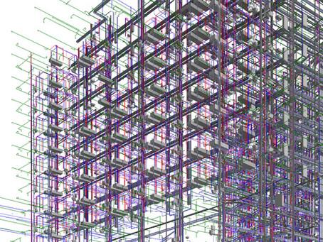 ВТБ Арена парк. BIM-моделирование, рабочая документация