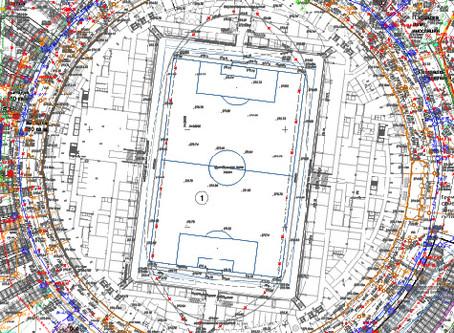 """Наружные инженерные сети. """"Стадион Центральный"""" вместимостью 35 000 зрителей"""