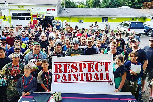 Respect Paintball Banner