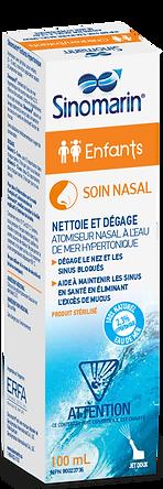 Sinomarin spray nasal hypertonique eau de mer - soulage la décongestion - sinus
