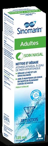 Sinomarin spray nasal hypertonique adultes et enfants soulage la décongestion