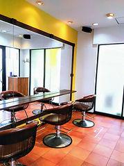 品川区大井町の美容室コクーンのシャンプー台