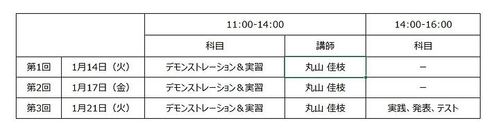 Time Table for FF 10th.JPG