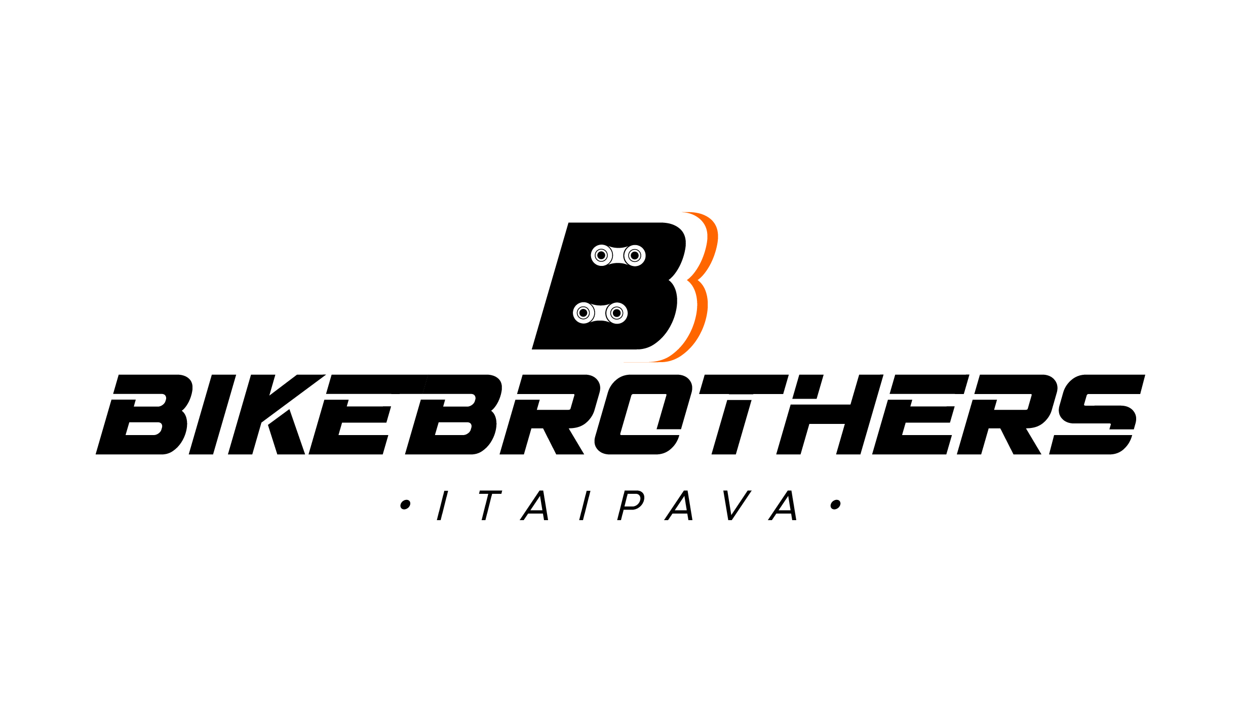 logo bike brothers-preto
