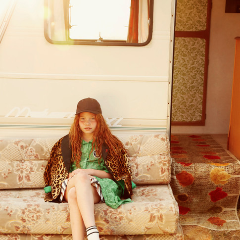 """Caravan"" for Luna Mag"
