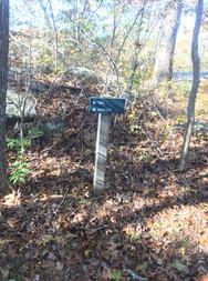 Allen's Pond Signage