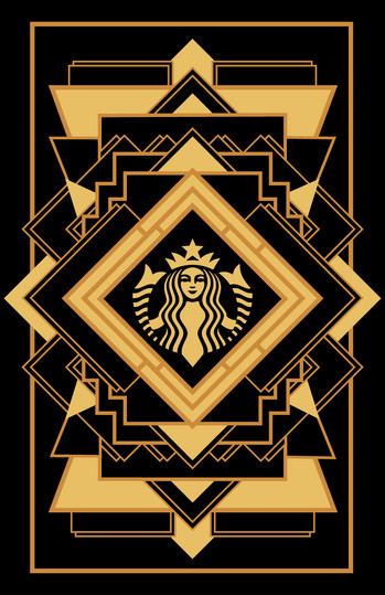 Art Deco Starbucks