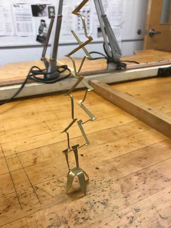 Standing Metal Chair