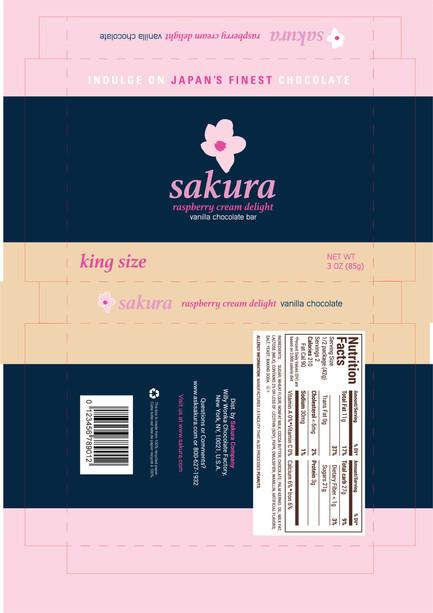 Sakura Chocolate King Size