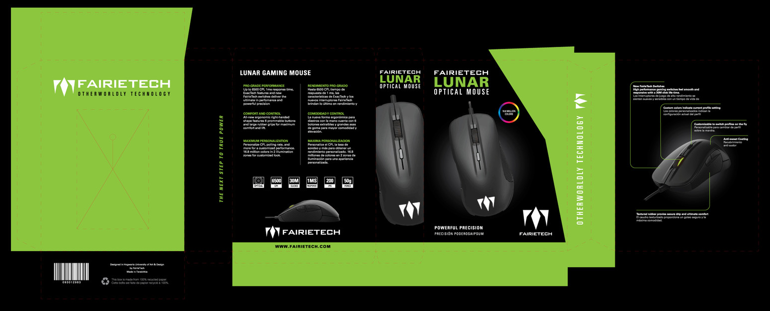 The Lunar Optical Gaming Mouse