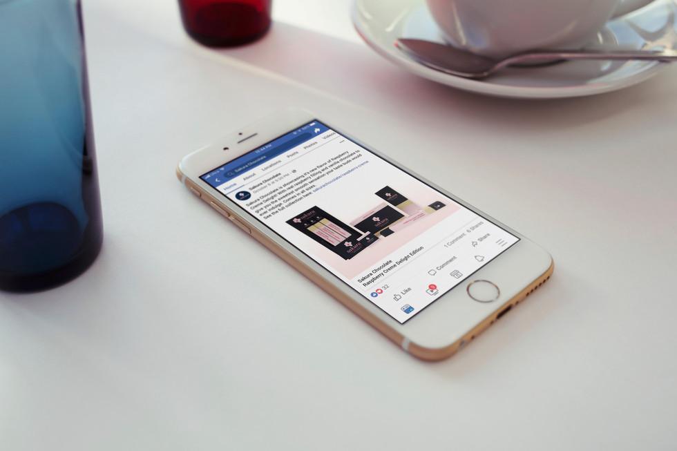 Facebook Ad Mock Up