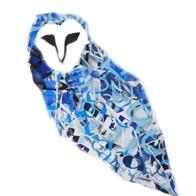 Designed Paper Juxtaposition Owl