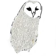 Magazine Juxtaposition Owl