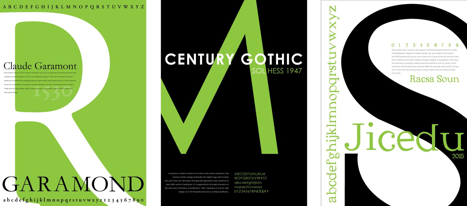 Typography Poster Finals