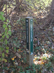 Two Trail Signage Post