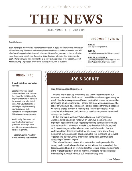Front Newsletter Final English
