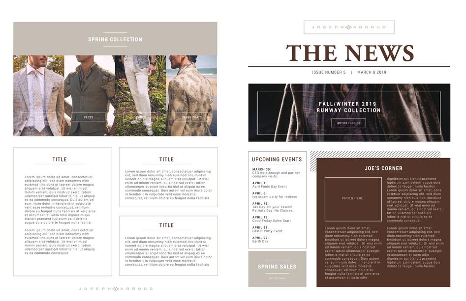Front & Back Newsletter 11x17