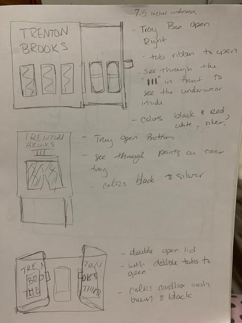 Package Sketch Ideas
