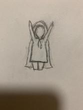 Mini Red Sketch