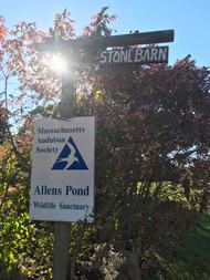 Stone Barn Signage