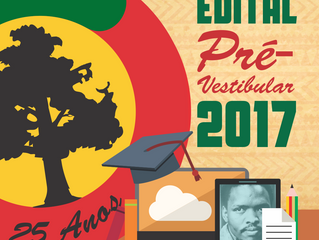 Edital do Pré-Vestibular 2017