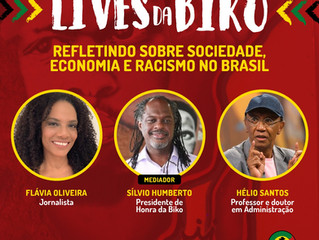 Lives da Biko propõe debate sobre economia e racismo no Brasil